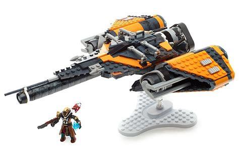 mega construx destiny arcadia jumpship toy  mighty ape nz
