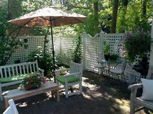 Privacy For Patio by 6ft Privacy Fence With Gate Traditional Patio