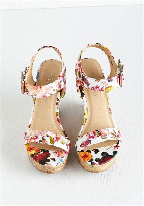 Wedges Vintage Cl best 25 floral wedges ideas on shoes heels
