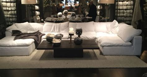 restoration hardware cloud sectional restoration hardware quot cloud quot couch a piece of heaven