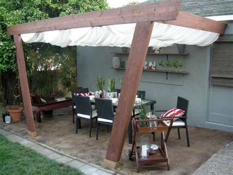 backyard canopy covers patio covers and canopies hgtv