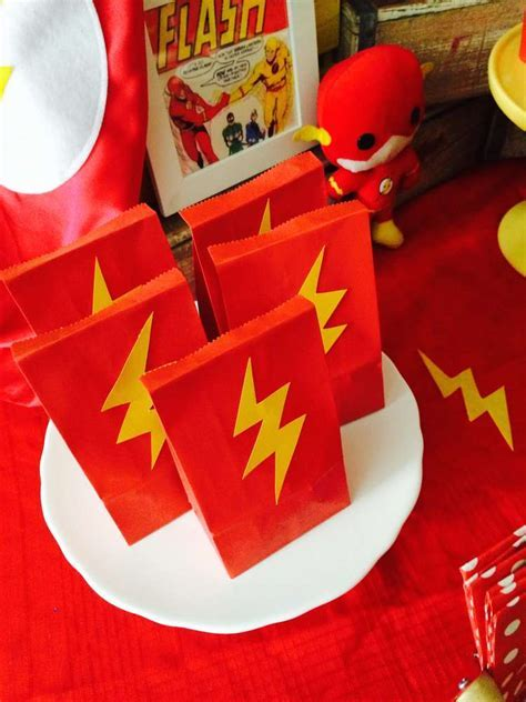 The Flash/Superhero Birthday Party Ideas   Photo 9 of 14   Catch My Party