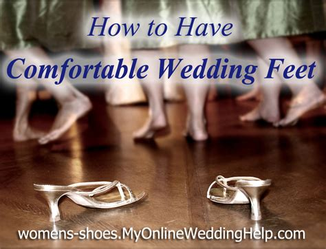 How To Have Comfortable Wedding Day Feet My Online