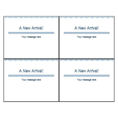 4 to a page postcard template templates postcard 4 per sheet avery html autos weblog