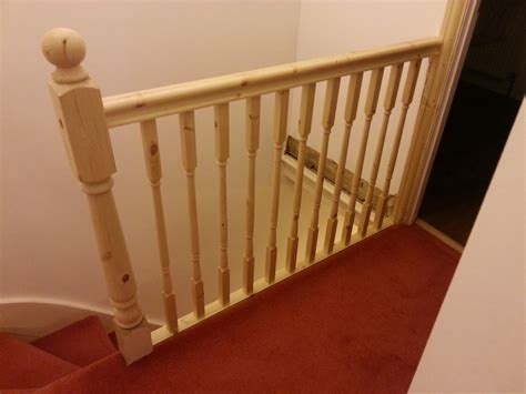banister railing installation how to replace banister newel post handrail and spindles