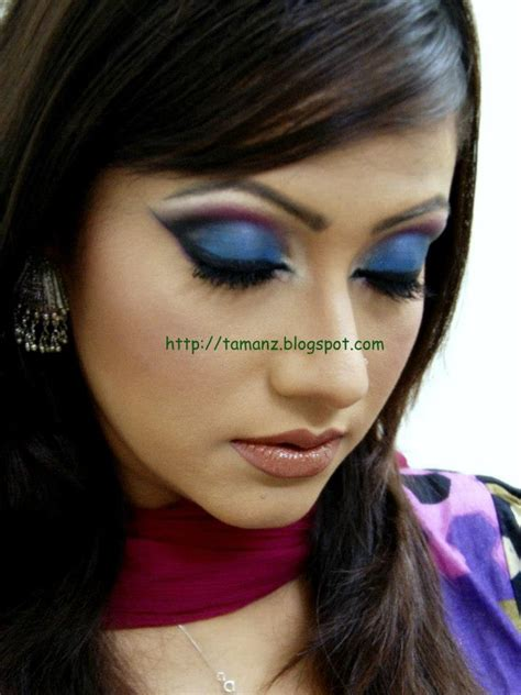 heavy makeup looks gallery greenstory tutorial blue shot eye look for heavy makeup