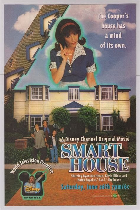 smart house full movie free smart house print ad disney channel tv series advertisement 1999