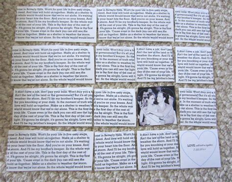 Wedding Song Lyrics Gift by Diy Wedding Anniversary Gift In