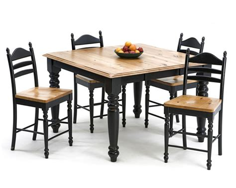 Square Table Dining Set Intercon Dining Set W Square Table Hillside Inhv 5454 Set