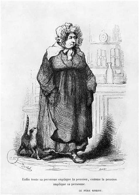 Madame Vauquer, illustration from ''Le P - (after) Charles