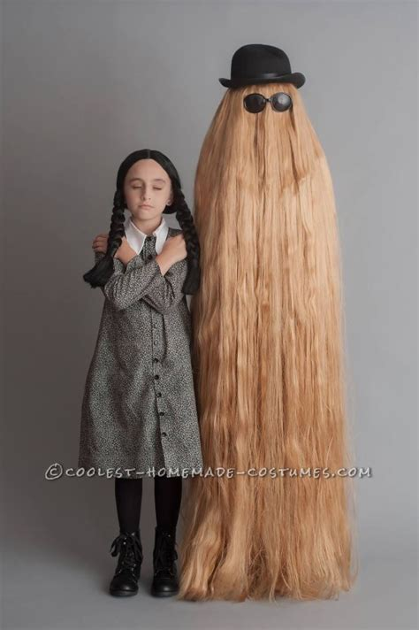 Toaster Streudel Mother Daughter Have Fun As Wednesday Addams And Cousin Itt