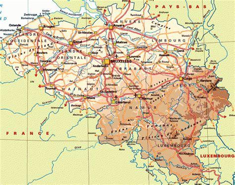 belgium geographical map congoforum
