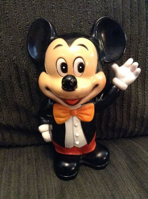 Disney Mickey Minnie Mouse Ceramic Piggy Bank Vintage - 58 best disney banks images on piggy banks