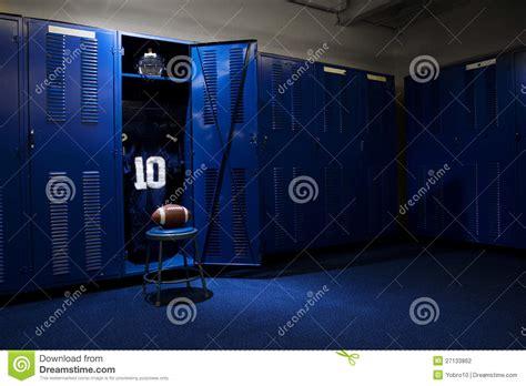 locker room authentics football locker room stock photography image 27133862