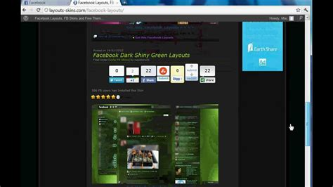 facebook themes and skins facebook layouts and fb skins premade themes guide