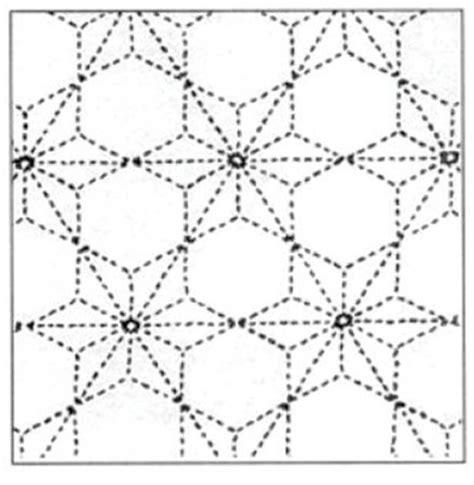 asanoha pattern history sashiko transfer pattern tobi asanoha