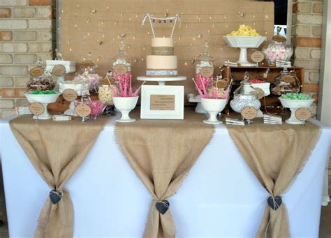 Rustic Lolly Buffet   Style My Celebration   Style My