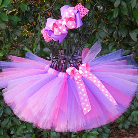 Handmade Tutus - colorful s tutu skirts infant baby 100 layers