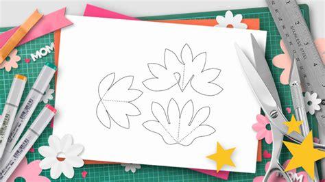flower pop up card templates dahmen diy s day pop up templates and tutorials do it