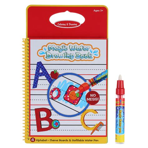 Reusable Water Magic Coloring Book Mom And Milly Magic Coloring Book