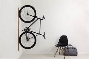 Bike Rack For Wall Hanging by Wall Mounted Bike Racks That Look Great While Being Practical