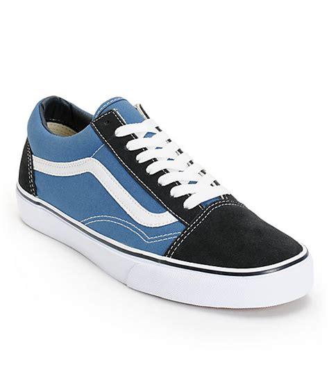 Jual Vans Skool Navy Blue vans skool navy skate shoes zumiez