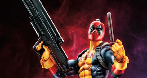 Marvel Legend Deadpool Blue Suit Series 1 hasbro rolls out new deadpool toys just in time for the untitled deadpool sequel bounding