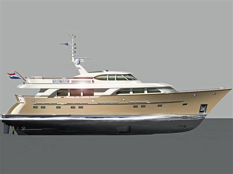 used round boat 2016 werner 98ft displacement round bilge motor yacht