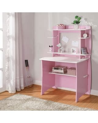 legare pink and white desk on sale now 12 legare 36 in desk with hutch pink