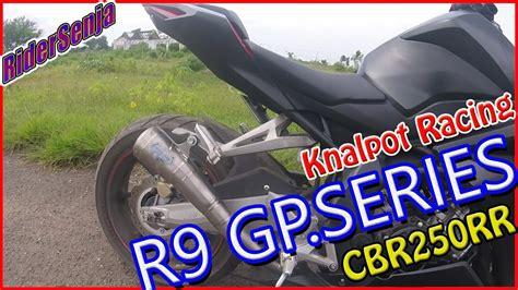 Knalpot Akrapovic Gp Rainbow Honda Cbr 250 Rr Fullsystem High Peforma knalpot r9 gp series cbr 250 rr test sound