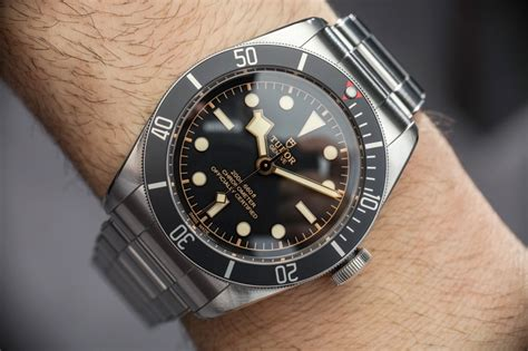 Tudor Design by Tudor Heritage Black Bay Watch With In House Movement