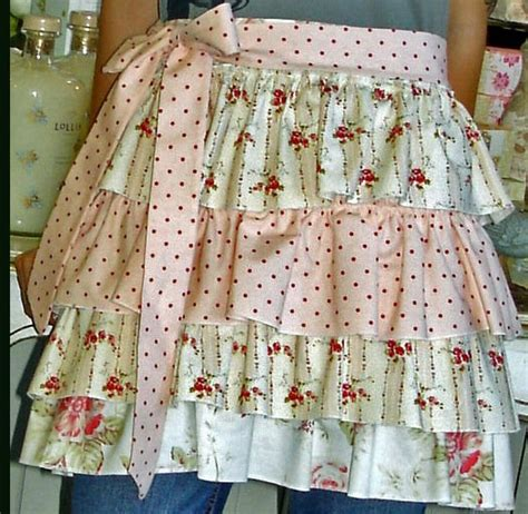 shabby chic romatic apron aprons pinterest shabby chic patterns and inspiration