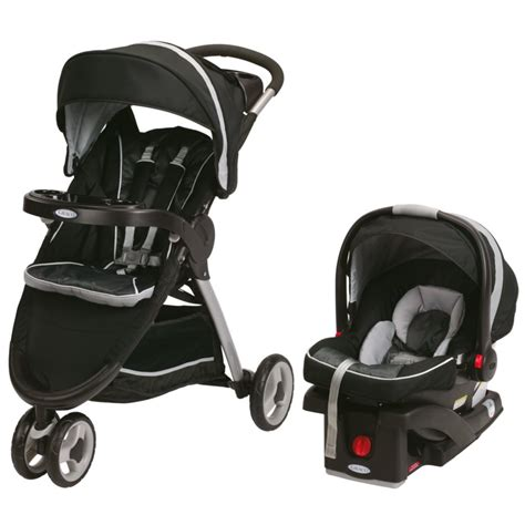 Graco Travel System graco fastaction fold sport stroller click