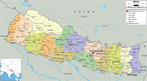 where is nepal on the map nepal land of the himalayas skyscrapercity