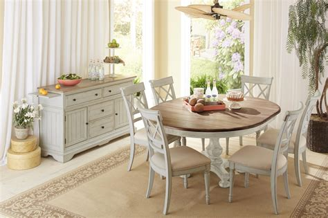 cresent furniture cottage casual dining room