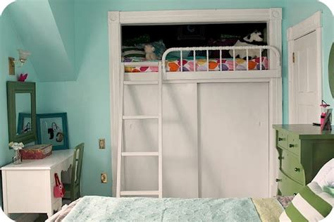 loft bed with closet 17 best images about built in bunk beds on pinterest