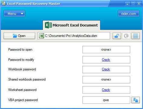 reset excel vba password free crack vba password recovery master v2 0 free castingdiet