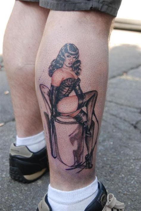 bettie page tattoo bettie page by cook picture at