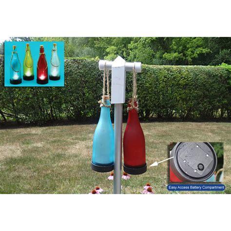 4 Pack Of Solar Powered Bottle Lights Ships Free 13 Deals Solar Powered Bottle Lights