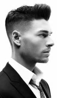 Sexy half shaved hairstyle for men short hairstyles for men mens short