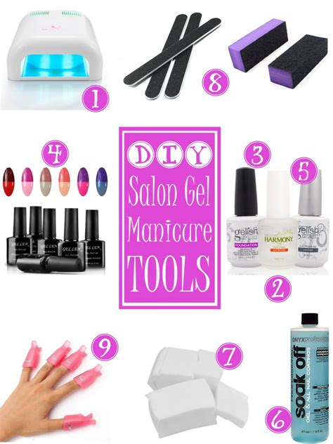 Nails At Home by Do It Yourself Salon Gel Nails At Home