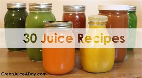 Masticating Juicer Recipes Detox by 30 Free Green Juice Recipes Http Www Greenjuiceaday