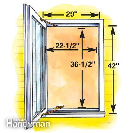 minimum size for basement egress window how to plan egress windows the family handyman