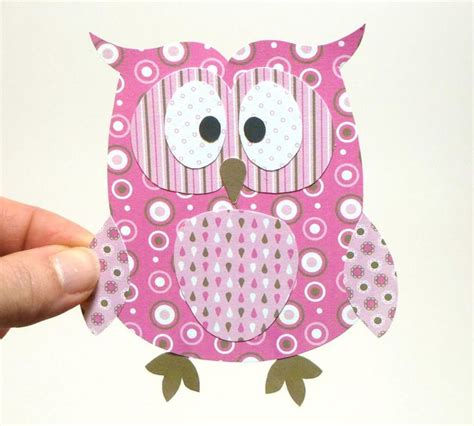 printable owl craft free owl printables pink owl printable by