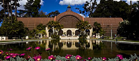 Balboa Park Garden by Botanical Building And Pond Balboa Park