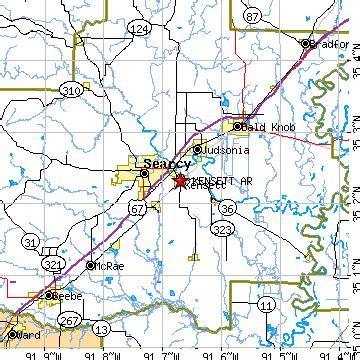Zip Code For Bald Knob Arkansas by Kensett Arkansas Ar Population Data Races Housing