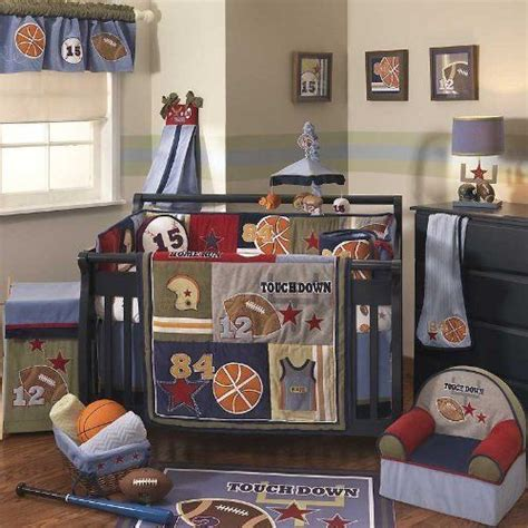 Sports Themed Baby Nursery Decor A New Baby On The Way Sports Nursery Decor