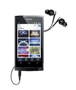 android mp4 player sony nwz z1050blk black 16gb android walkman mp3 mp4 player