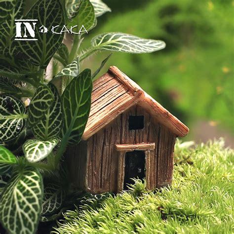 decorative fairy tree house with 3 fairy figurine outdoor aliexpress com buy micro fairy garden figurines kawaii