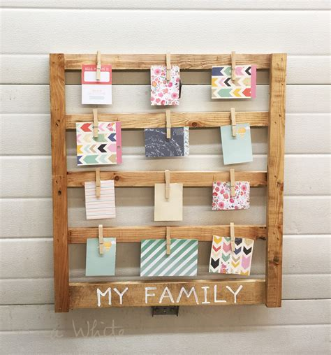 easy scrap wood photo display gifts ana white